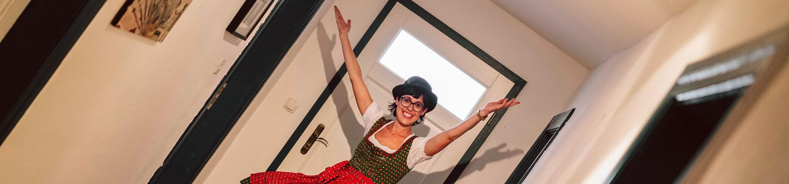 Kabarettistin Eva Karl-Faltermeier