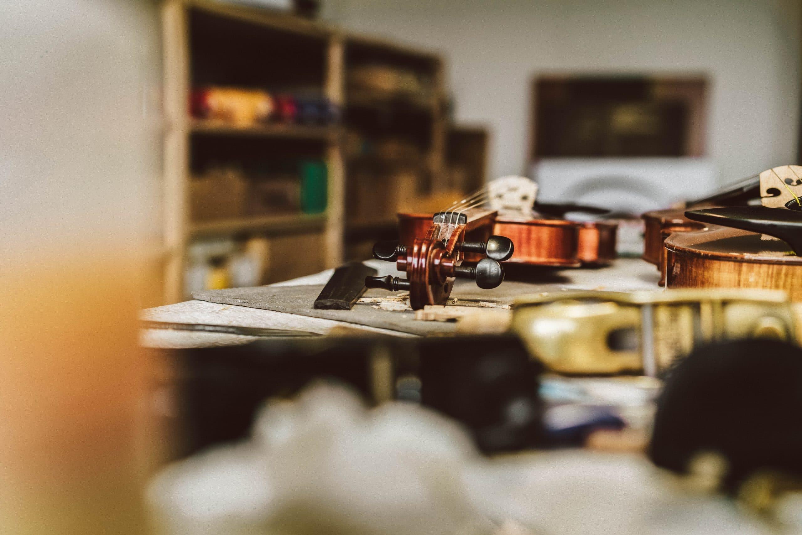 Blick in die Werkstatt von Judith Bauer