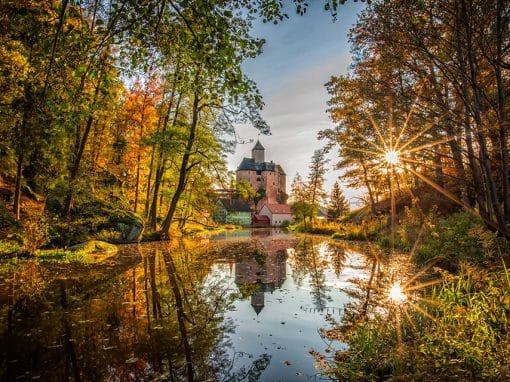 Burg Falkenberg aufgenommen von Norbert Schreiber