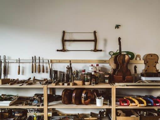 Blick in Judiths Werkstatt