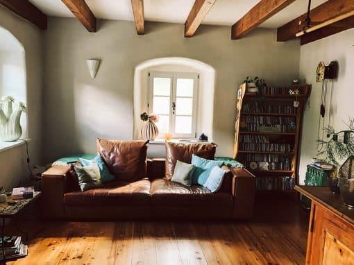 Das Wohnzimmer von Sabine und Sven