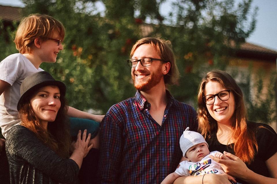 Nathanael und seine Familie