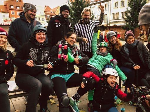 Rolling Rat Pack Skate Out in der Regensburger Altstadt