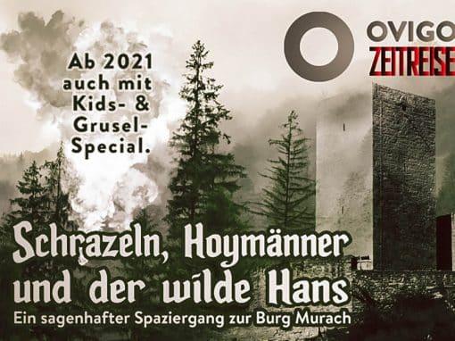 "Plakat Zeitreise ""Burg Murach"""