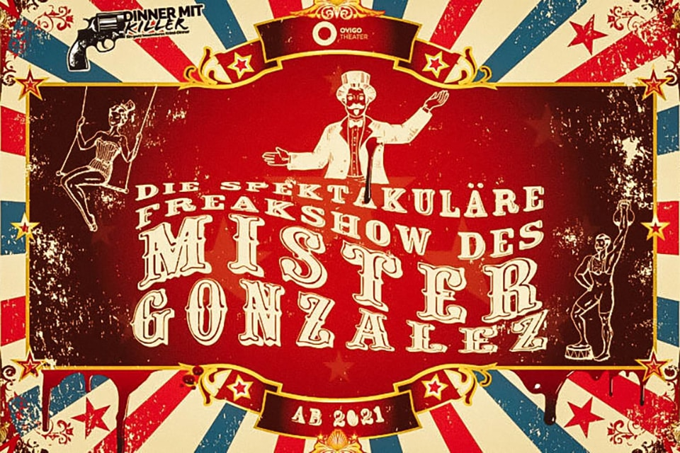 Plakat Mister Gonzales