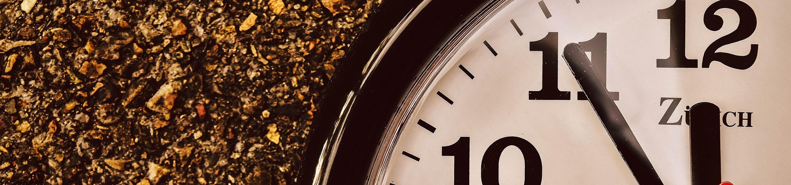 Symbolbild Uhrzeit