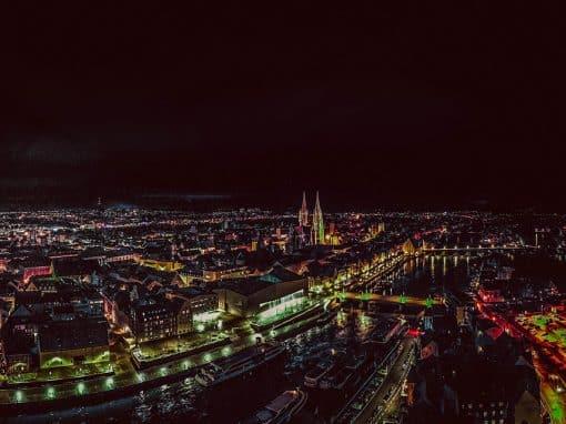 Glühendes Regensburg