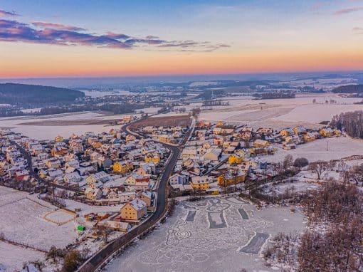 Sonnenaufgang über Fußenberg