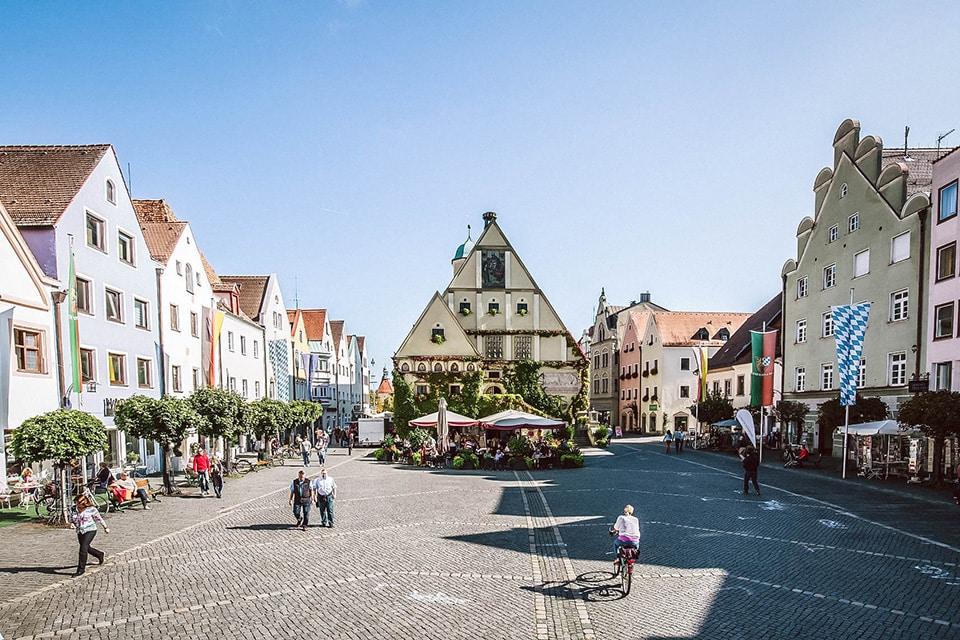 Marktplatz Weiden in der Oberpfalz