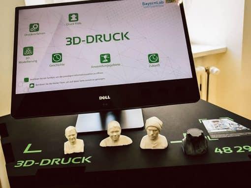 3D Druck im BayernLab