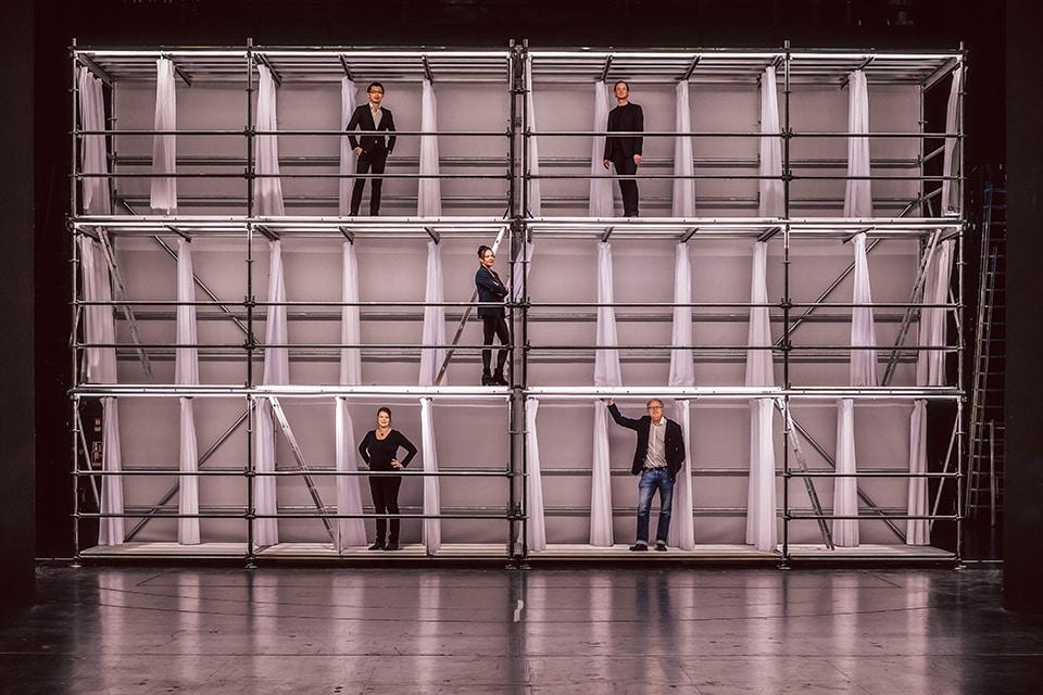 Das Leitungsteam des Theater Regensburg für die Spielzeit 2021/