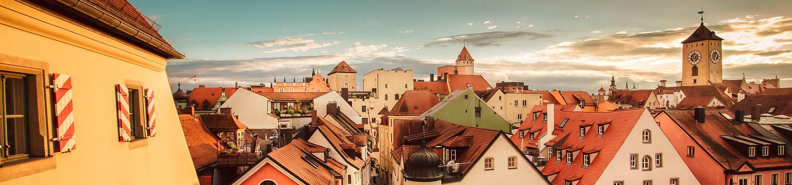 Blick über die Regensburger Altstadt