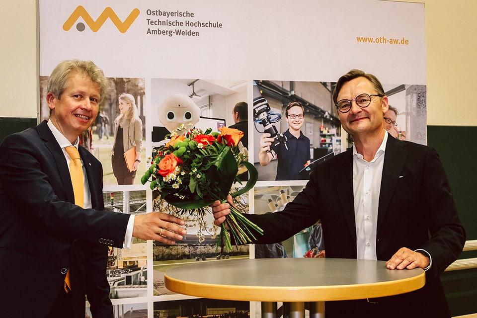 Neuer Präsident an der OTH Amberg-Weiden