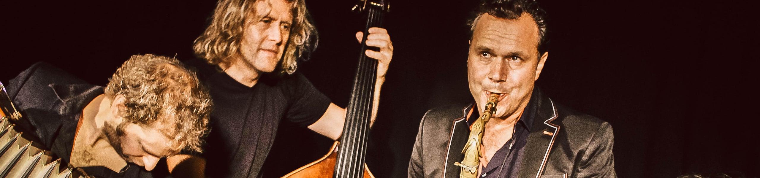 Die Musiker von Quadro Nuevo
