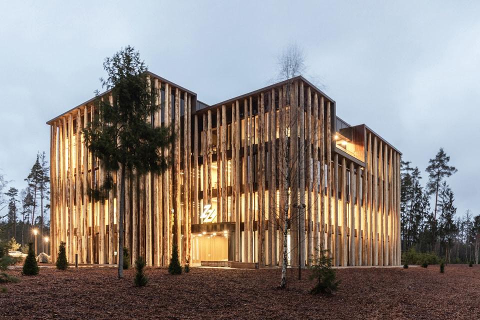 Die Architektur der Oberpfalz begeistert derzeit in der Architekturgalerie im Kunsteral Münchens.