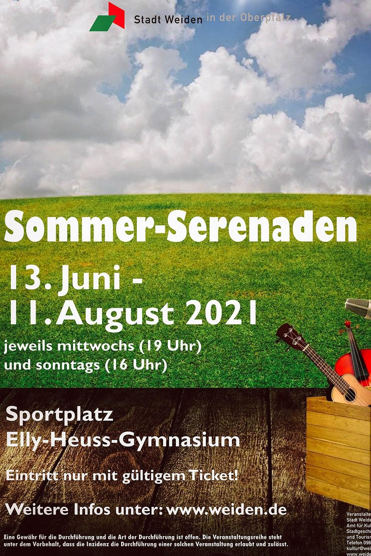 Sommerserenaden Plakat