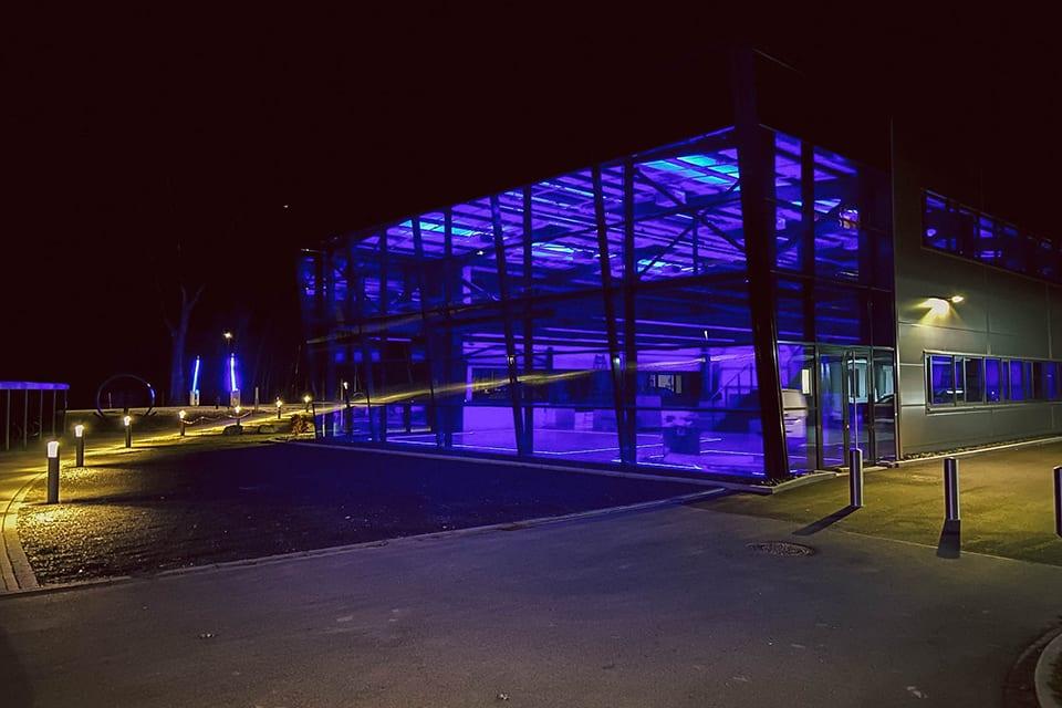Fassade Future Lab in Weiherhammer