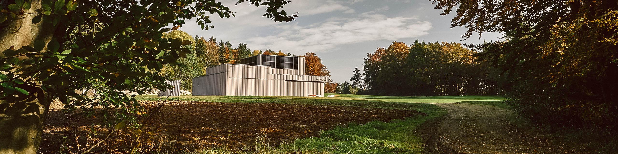 Das 3D-Planetarium mit Sternwarte in Ursensollen eröffnete im Dezember 2019.