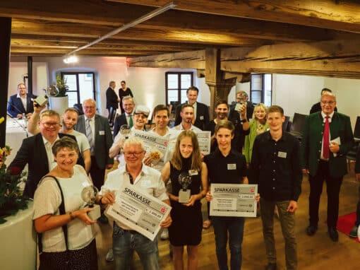 Gruppenbild Preisverleihung Ideenwettbewerb