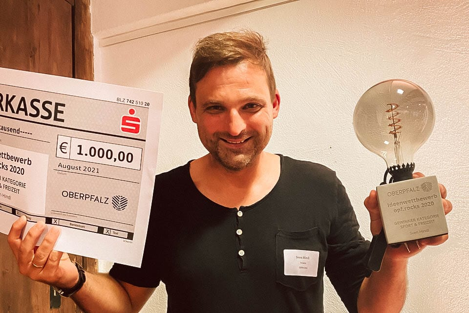 Preisverleihung opf.rocks Ideenwettbewerb 2020 - Sven Hindl