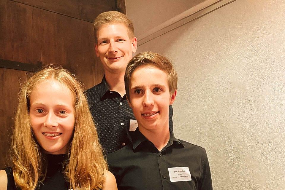Preisverleihung opf.rocks Ideenwettbewerb 2020 - Gymnasium Esche
