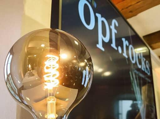Preisverleihung opf.rocks Ideenwettbewerb 2020